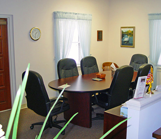 Parthemore Funeral Home - Arrangement Room
